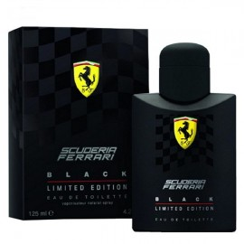 عطر مردانه فراری مدل Black Scuderia Limited Edition Eau De Toilette