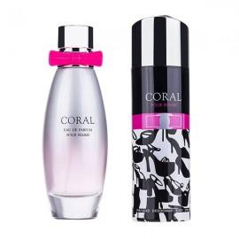 ست زنانه امپر مدل Prive Coral Pour Femme Eau De Parfum