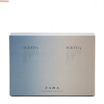 ست دو تایی عطر زارا Scent 2 + Scent 4 حجم 100 میلی لیتر