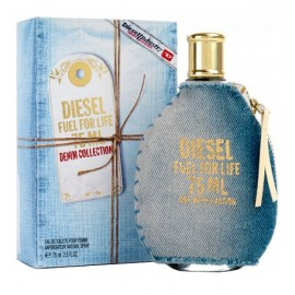 عطر زنانه ديزل مدل Fuel for Life Denim Eau de Parfum