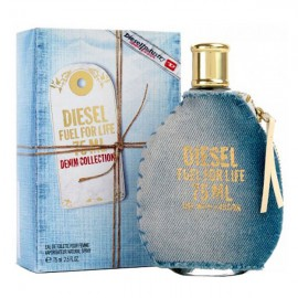 عطر مردانه ديزل مدل Fuel For Life Denim Eau De Toilette