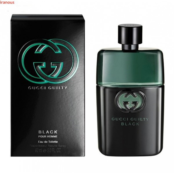 عطر مردانه گوچی مدل Guilty Black Pour Homme Eau De Toilette