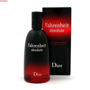عطر مردانه ديور مدل Fahrenheit Absolute Eau De Toilette