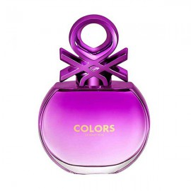 ادو تویلت بنتون Colors De Benetton Purple حجم 80 میلی لیتر