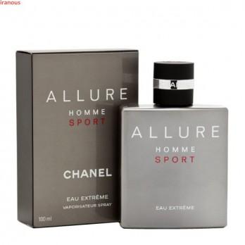 عطر زنانه شنل Allure Homme Sport Eau Extreme حجم 100 میلی لیتر