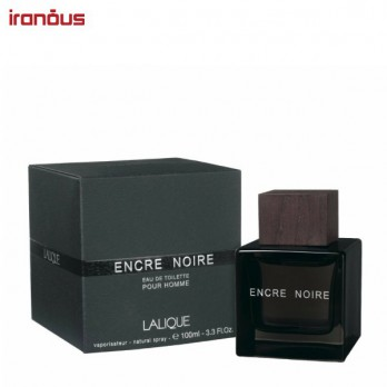 عطر مردانه لالیک مدل Encre Noire Eau De Toilette