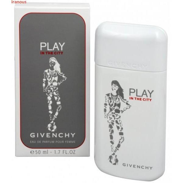 عطر زنانه ژیوانشی مدل Play In The City Eau De Parfum