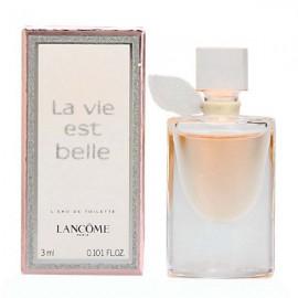 مینیاتوری ادو تویلت لانکوم La Vie Est Belle حجم 3 میلی لیتر
