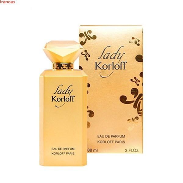 عطر زنانه کارلوف مدل Lady Eau De Parfum