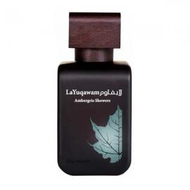 ادو پرفیوم رصاصی La Yuqawam Ambergris Showers حجم 75 میلی لیتر