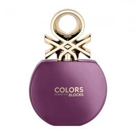 ادو تویلت بنتون Colors De Benetton Blocks Purple حجم 80 میلی لیتر