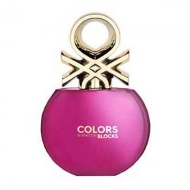 ادو تویلت بنتون Colors De Benetton Blocks Pink حجم 80 میلی لیتر