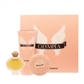 پک مینیاتوری پاکورابان Olympea + صابون + بادی لوسیون