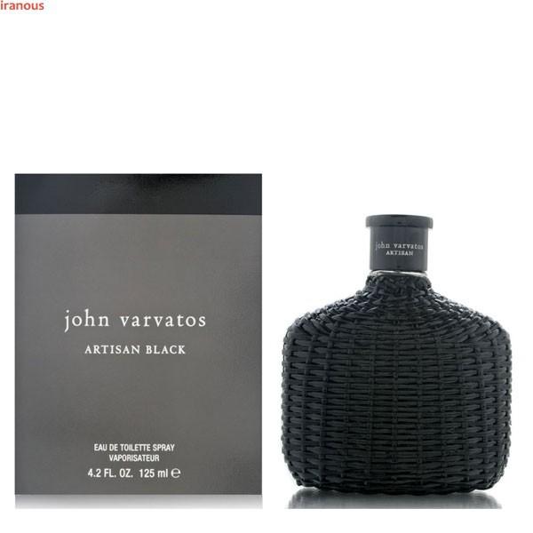 عطر مردانه جان وارواتوس مدل Artisan Black Eau De Toilette