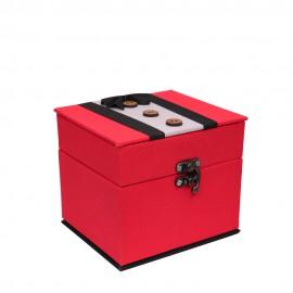 باکس هدیه مقوایی با روکش پارچه