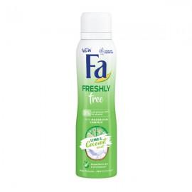اسپری بدن فا Freshly Free Lime & Coconut