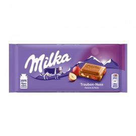 شکلات میلکا Raisin Nuts