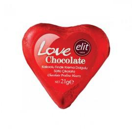 شکلات الیت Love قلب
