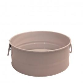 سطل فلزی دسته دار رنگی سایز 2