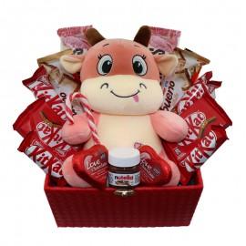پک هدیه شکلاتی عروسکی مسکو