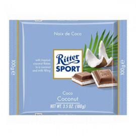 شکلات ریتر اسپورت Milk Chocolate با طعم نارگیل