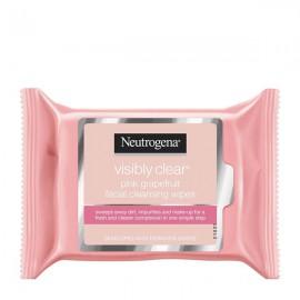 دستمال مرطوب صورت نیتروژنا Visibly Clear Pink Grapefruit