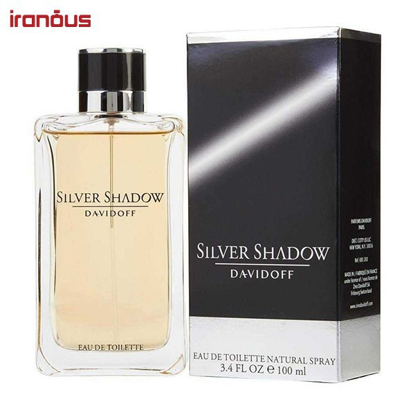 عطر مردانه ديويدوف مدل Silver Shadow Eau De Toilette