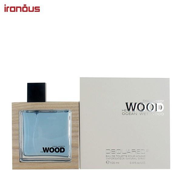 عطر مردانه ديسكوارد مدل Ocean Wet Wood Eau De Toilette