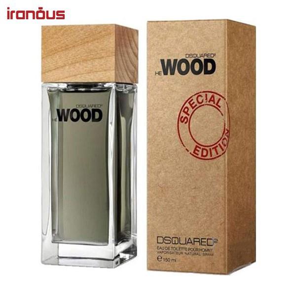عطر مردانه ديسكوارد مدل He Wood Special Edition Eau De Toilette