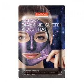 ماسک صورت پیوردرم Galaxy Diamond Violet