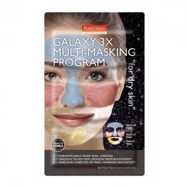 ماسک صورت پیوردرم Galaxy 3x For Dry Skin