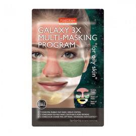 ماسک صورت پیوردرم Galaxy 3x For Oily Skin