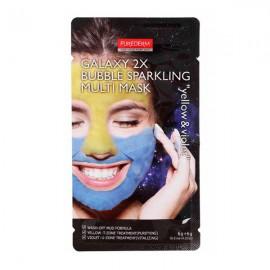 ماسک صورت حبابی پیوردرم Galaxy 2X Yellow & Violet