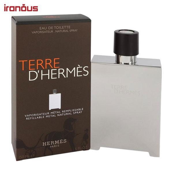 ادو تویلت هرمس Terre d'Hermes Metal Flacon