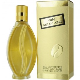 عطر زنانه کافه کافه مدل Gold Label Eau De Toilette