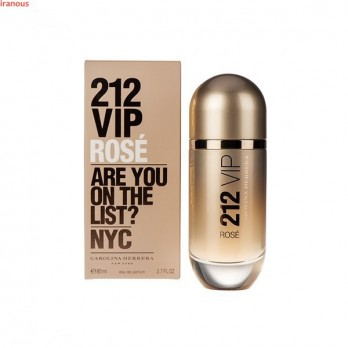 عطر زنانه کارولینا هررا مدل 212 VIP Rose Golden Eau De Parfum