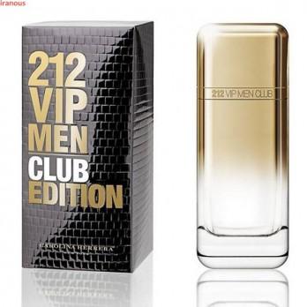 عطر مردانه کارولینا هررا مدل 212 VIP Men Club Edition Eau De Toilette