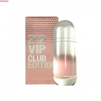 عطر زنانه کارولینا هررا مدل 212 VIP Club Edition Eau De Toilette