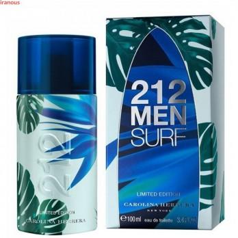 عطر مردانه کارولینا هررا مدل 212 Surf for Him Eau De Toilette