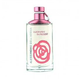 عطر الساندرو دل آکوا مدل Woman In Rose EDT
