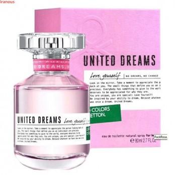 عطر بنتون مدل United Dreams Love Yourself EDT