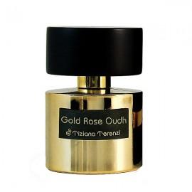 عطر زنانه مردانه تیزیانا ترنزی Gold Rose Oudh حجم 100 میلی لیتر