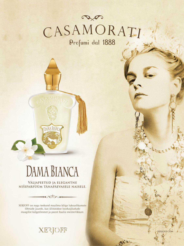 تستر اصل ادکلن زنانه کازموراتی زرجف Dama Bianca Casamorati داما بیانکا