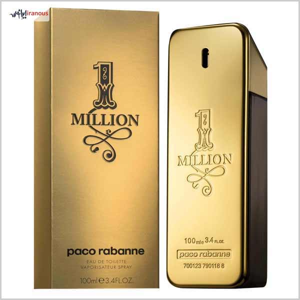 عطر ادکلن پرفروش ترین عطر و ادکلن های 10 برند برتر عطر و ادکلن جهان 1 Million By Paco Rabanne