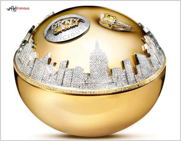 پرفروش ترین عطر و ادکلن های 10 برند برتر عطر و ادکلن جهان عطر ادکلن DKNY Golden Delicious Million Dollar