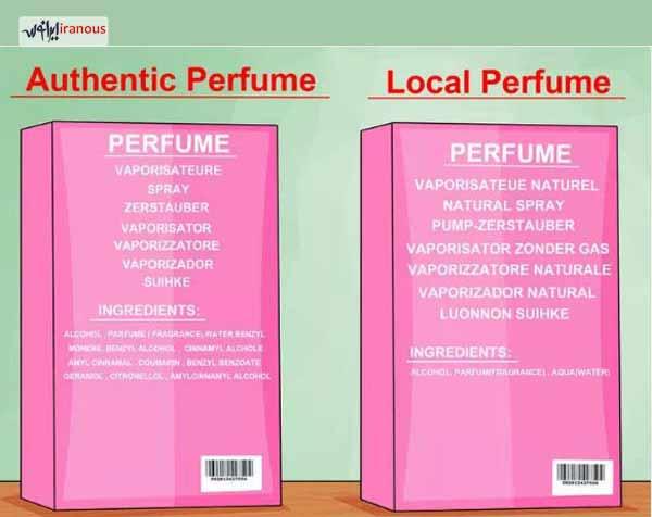 راه هایی برای تشخیص اصالت عطر ادکلن