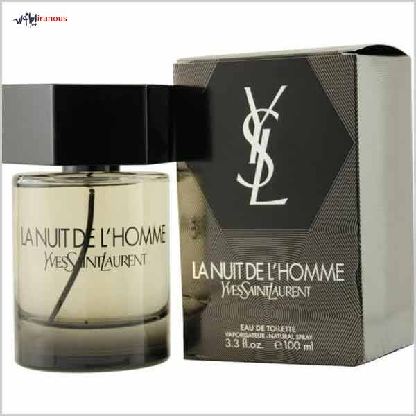 خوشبوترین عطر مردانه سال 2017 Yves Saint Laurent La Nuit De L'homme