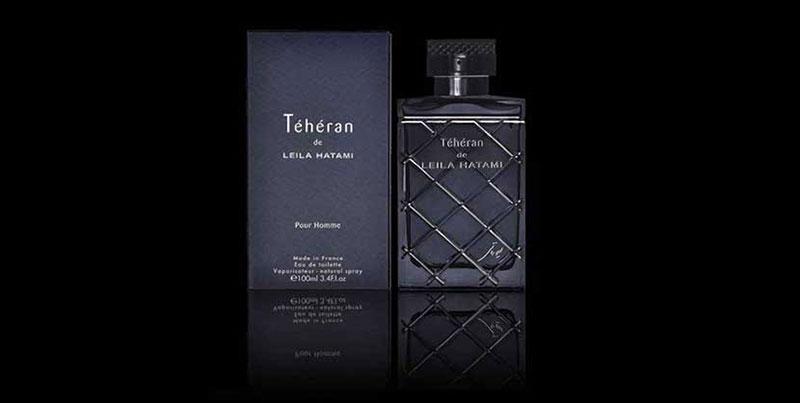 عطر مردانه لیلا حاتمی