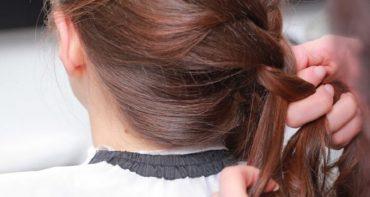 بافت موی ساده